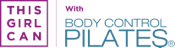 This Girl Can Logo +With Body Control Pilates Logo