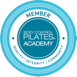 Pilates academy logo